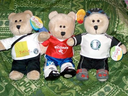 3 sport bears